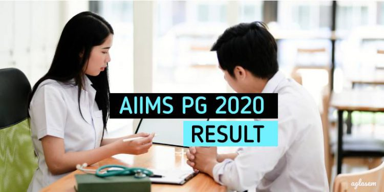 AIIMS PG 2020 Result