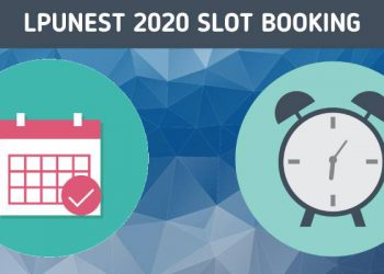 LPUNEST 2020 Slot Booking